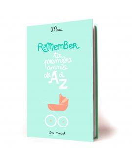 Livre à compléter pour noter souvenirs de bébé