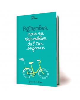 Idée cadeau enfant pour noter les souvenirs