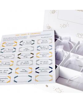 Stickers pour la personnalisation de la boite à souvenirs