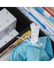 Étiquette pour identifier les souvenirs d'enfance ou pour une fête : baptême, anniversaire...
