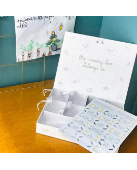 Keep baby's souvenirs in the box