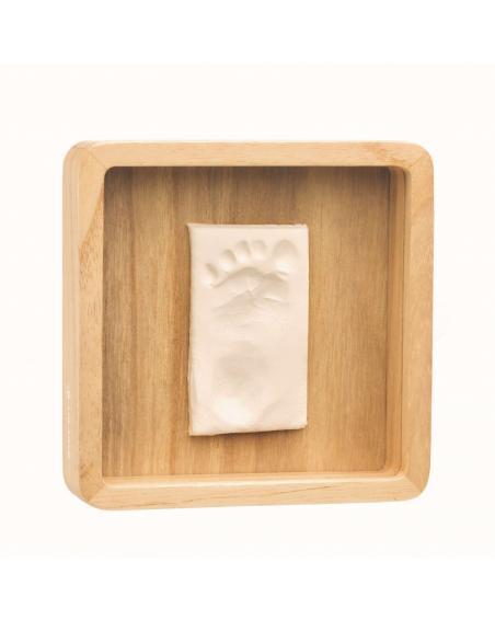 Cadre en bois pour empreinte bébé