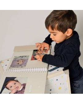 Album photo bébé à personnaliser