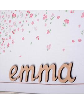 Lettres en bois mdf que vous pouvez peindre ou décorer