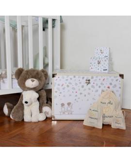 Malle bébé décorative pour chambre d'enfant