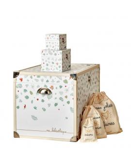 Malle bébé : cadeau unique et personnalisable pour la naissance ou l'anniversaire de votre enfant