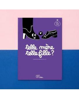 Relation mère fille : cahier humoristique à remplir