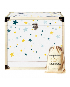 Bébéothèque cube : la boite souvenir enfant bébé