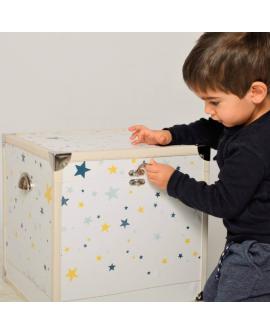 Boite à souvenirs pour bébés et enfants : cadeau unique