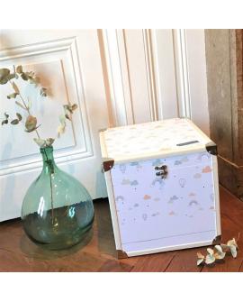 Grande boite à souvenirs déco et pratique pour les petits espaces
