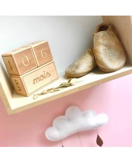Cubes étapes ludiques et décoratifs, à utiliser pendant de nombreuses années