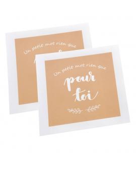 2 cartes pour écrire un message a chaque grand-parent