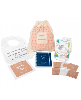 Kit de cadeaux pour remplir la boite à maman