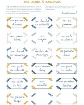 Stickers pour la personnalisation : choisissez les souvenirs que vous voulez garder