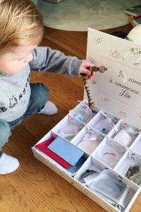 Un casier à souvenirs pour son premier Noël