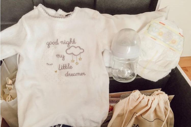 souvenirs de la naissance dans la bébéothèque