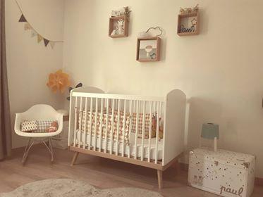 chambre bébé scandinave garçon bébéothèque