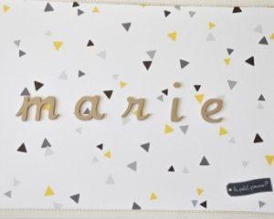 lettres décoratives chambre bébé