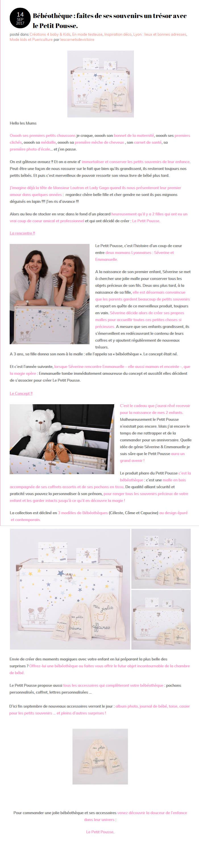 Avis Le Petit Pousse : blog maman