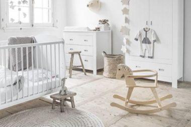 La bébéothèque, nouveau concept sympa dans la chambre idéale pour bébé de Maman Vogue
