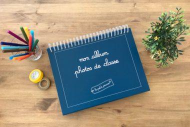 Créer un album photos de classe astucieux avec Le Petit Pousse