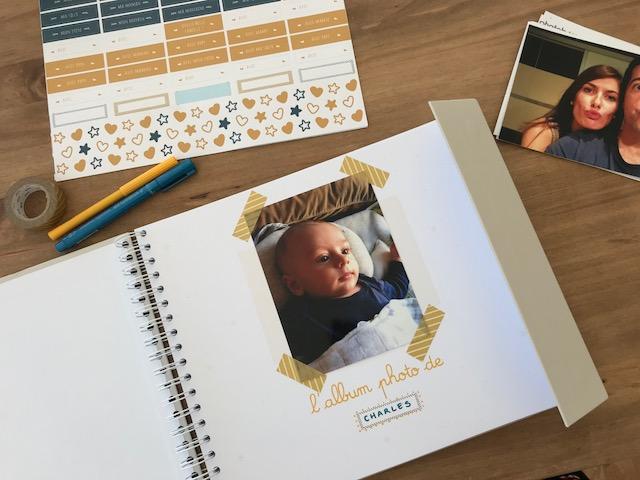 Personnaliser son album photo de bébé avec Le Petit Pousse