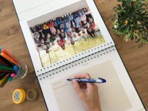 Album photo de classe à personnaliser