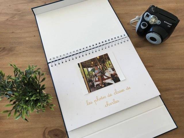 Un album photo de classe qui s'adaptera à sa scolarité et ses activités extra-scolaires