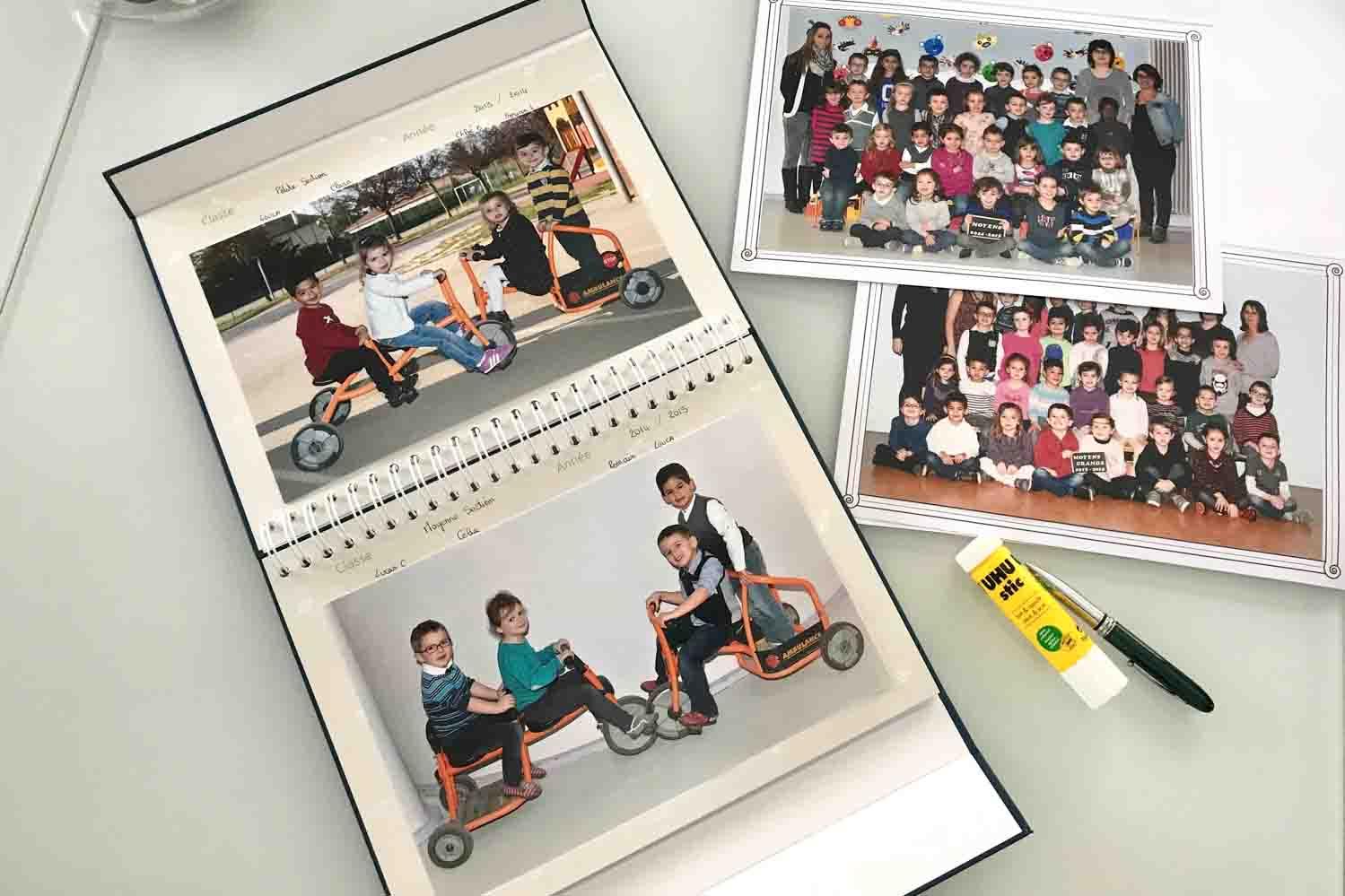 album photo classe personnalisable