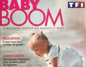 Sélection shopping du magazine BABY BOOM été 2019