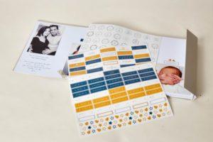 Album photo bébé personnalisable