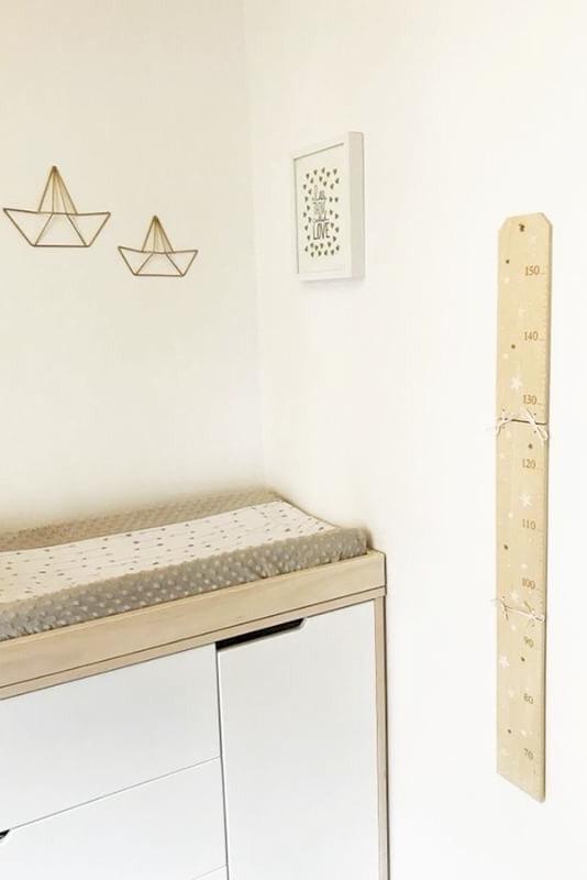 table a langer pour déco chambre bebe
