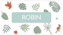 modèle Robin cadeau nature pour bébé fille garçon